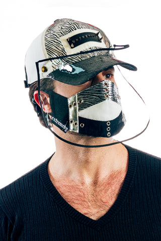 VIR Men Cap & Mask Fashion Accessory #017