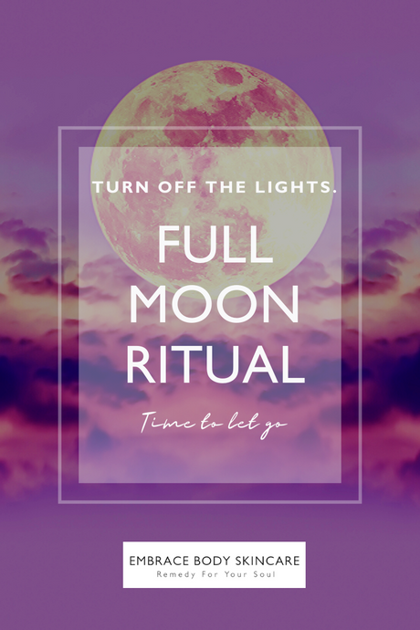 Full Moon Ritual |  'Flower' Super Moon in Scorpio