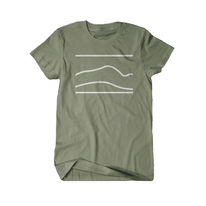 GREEN BELLA CANVAS UNISEX T