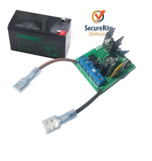 SecureRite 12V 1A Charger Combo