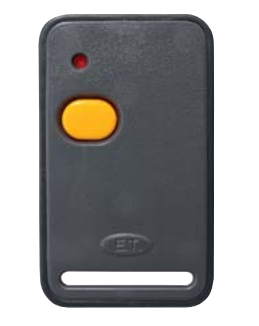ET 1 Button Yellow Button Self Learning 404MHz Remote Transmitter