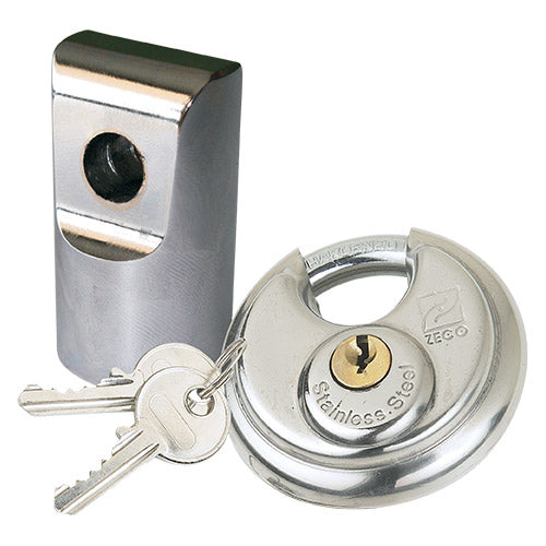 70mm Stainless Steel Discus Padlock