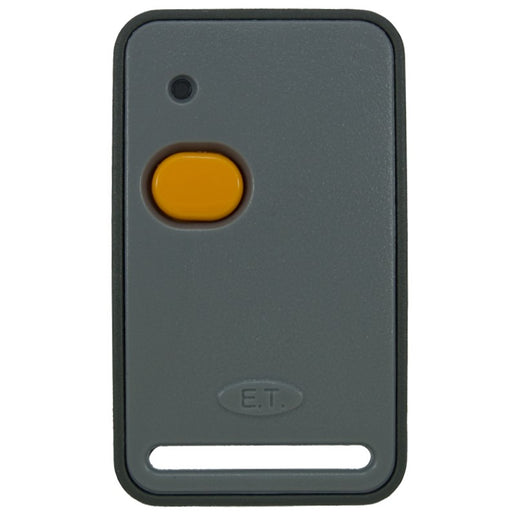 ET 1 Button Orange Self Learning 434MHz Remote Transmitter