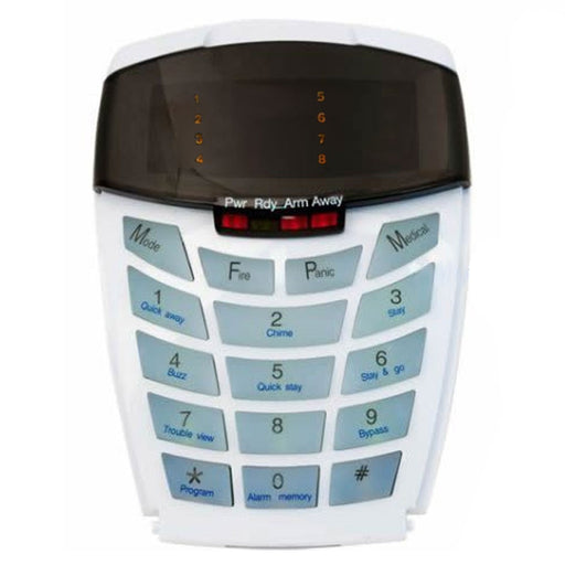 IDS 8 Zone LED Curve Series Keypad
