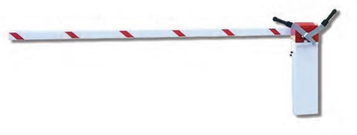 BoomGate 5m Square Traffic Barrier Boom Pole