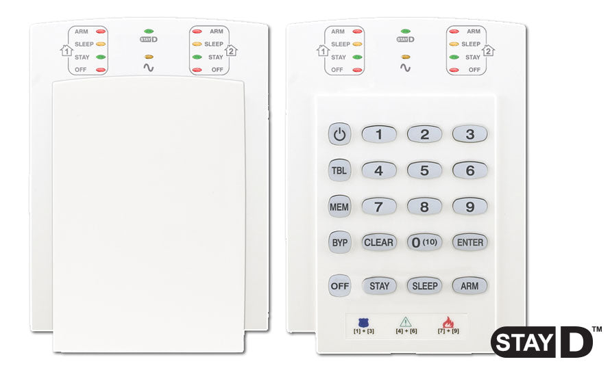 Paradox K10V 10 Zone Hardwired Led Keypad - PA3840