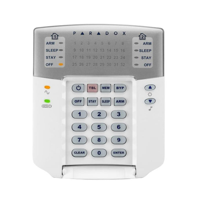 Paradox K32 LED Hardwired Keypad - PA3850