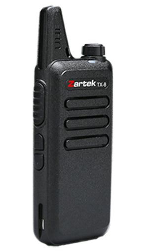 Zartek TX-8 Single Box UHF Handheld Two Way Radio