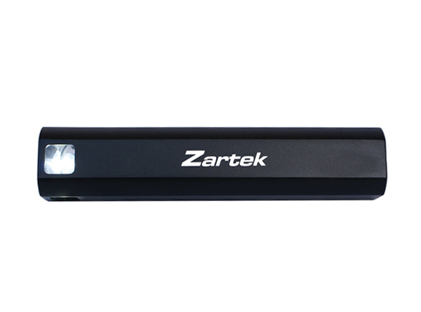 Zartek ZA-360 Led Flashlight Torch with Powerbank