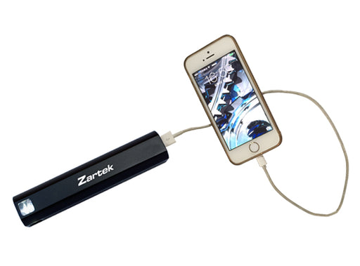 Zartek flashlight torch with powerbank