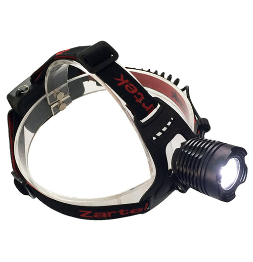 Zartek ZA-432 Rechargeable LED Torch Headlamp