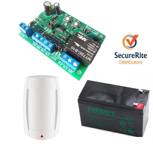 SecureRite Alarm Extender/Zone Expander Indoor Kit