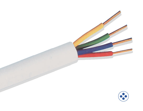 4 Core 100m Solid Cable