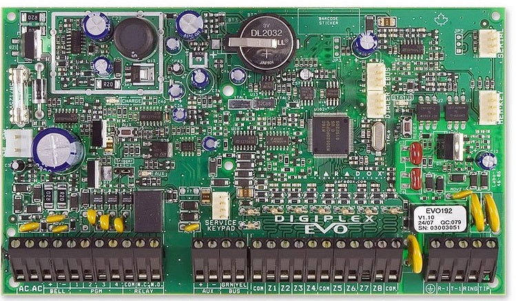 Paradox Evo 192 Digiplex Control Panel only - PA3406