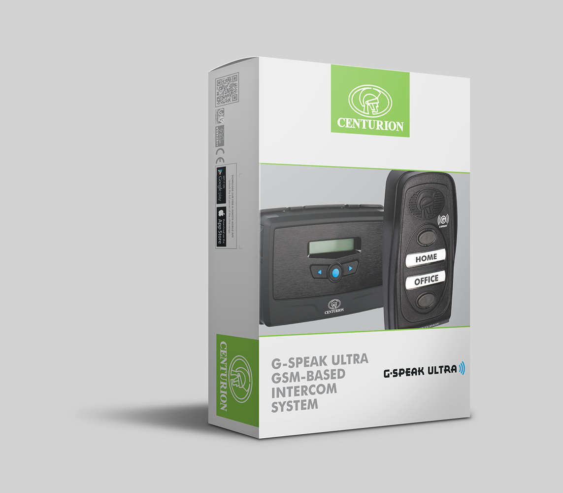Centurion G-Speak Ultra GSM Intercom Kit