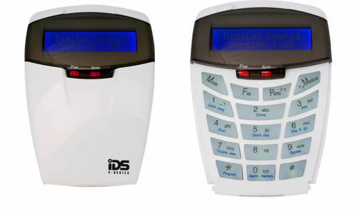 IDS XSeries Multi-language LCD Curve Series Keypad