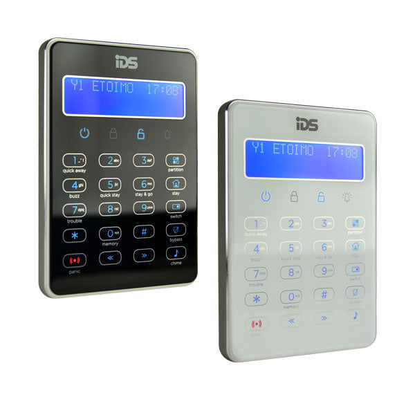 IDS XSeries Touch Series LCD Keypad