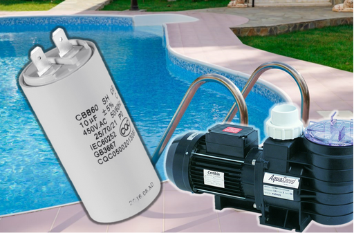 Motor Run Pool Pump Lawnmower Air Compressor 8uF 450V Capacitor