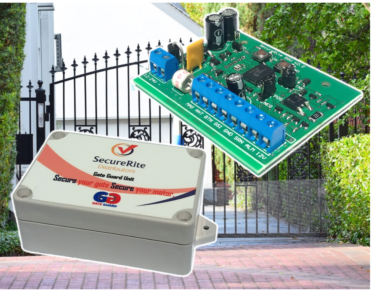 SecureRite Smart Gate Alarm for Intrusion Detection