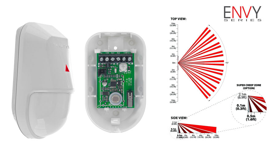 Paradox NV5-KNK Indoor Wired Motion Detector - PA1020