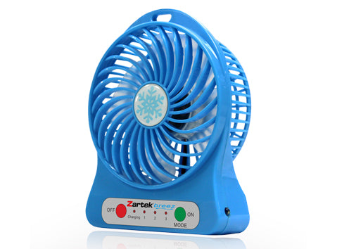 Zartek ZA-100 Breez Portable Rechargeable Mini Fan