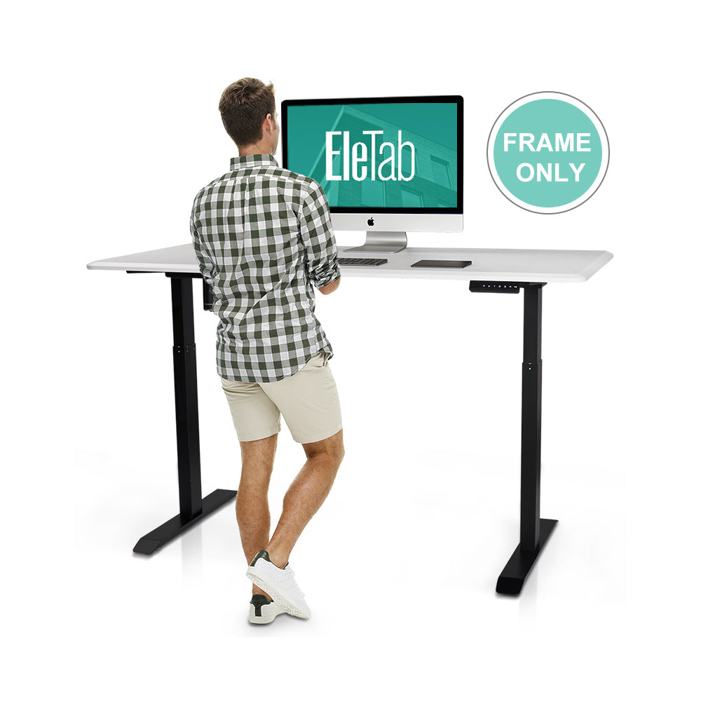 EleTab Electric Single Motor Standing Desk Frame ELTBAD-02