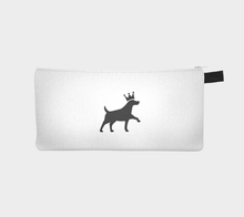 Load image into Gallery viewer, Mask Sleeve With Keychain Loop - Never Forget Your Mask - Pawprints Collection Dog & Crown