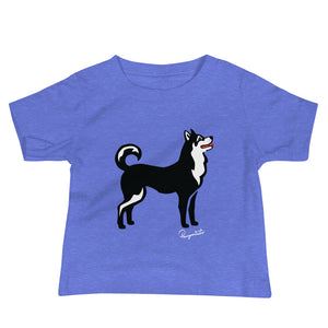Baby Jersey Short Sleeve Tee - Pawprints Collection
