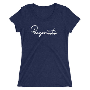 Women's Short Sleeve Tee - Pawprints Signature