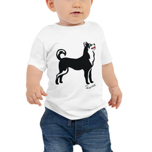 Load image into Gallery viewer, Baby Jersey Short Sleeve Tee - Pawprints Collection