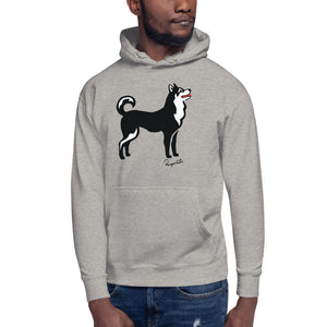 Premium Unisex Hoodie - Pawprints Collection