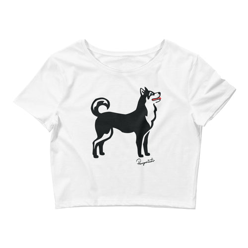 Women's Crop Tee - Pawprints Collection