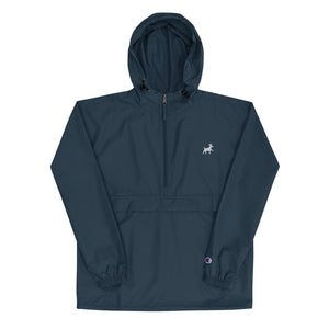 Embroidered Champion Packable Jacket - Pawprints Collection - Dog & Crown
