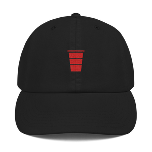 Red Cup SZN x Champion - Dad Hat