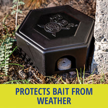 Load image into Gallery viewer, RatX® Small Bait Box protects bait from weather