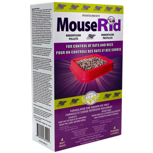 MouseRid® Ready Trays (Canada Only) - 4 Pack