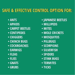 Stop Bugging Me!™ Lawn & Garden is a safe & effective control option for insect.