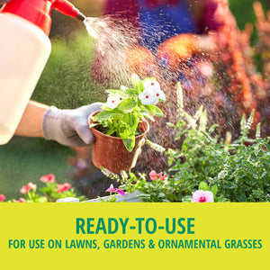 Stop Bugging Me!™ Lawn & Garden is ready-to-use, for use on lawns, gardens & ornamental grasses.