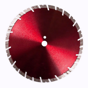 """Bad Boy Red"" Diamond Saw Blade for Brick  (12"" - 16"")"