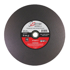 "14"" Edmar Reinforced Abrasive Cut-Off Wheel for Metal (1in arbor)"