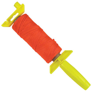 Kraft (W. Rose) Flourescent Orange Bonded Braided Nylon Line - 500' EZ-Winder