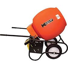Electric Cement Mixer - 6 Cubic feet - 600DD