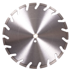 "Hard Brick & Stone Diamond Saw Blade, Premium ""U Slotted"" (12"" - 20"")"