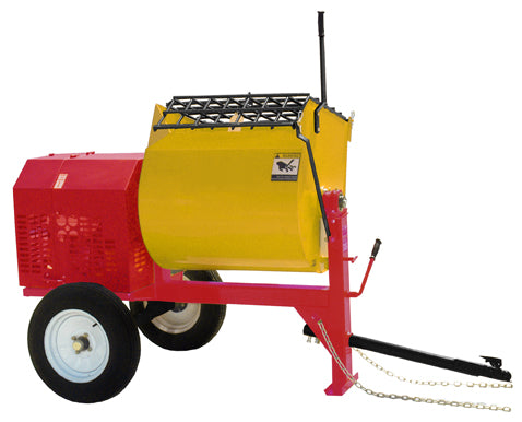 Pro-Mix Mortar Mixer, 10 Cu. Ft., 8hp Honda Engine - MM95