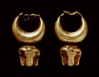 Egyptian Gold Hoops