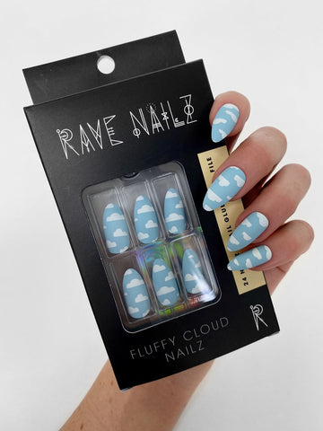 rave nails press on
