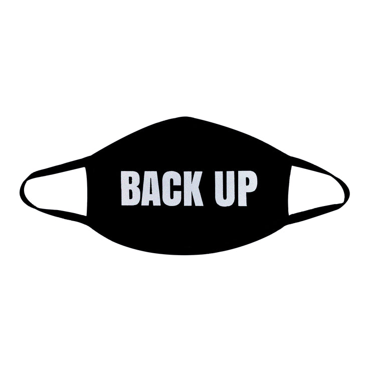 Back Up Face Mask