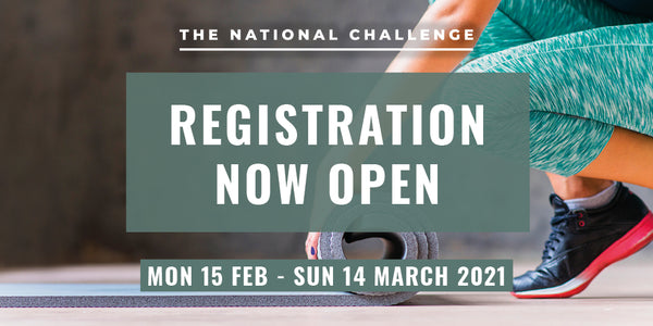 Register Now - Feburary 2021 Challenge