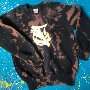 Kid's Custom Acid Wash Sweatshirt