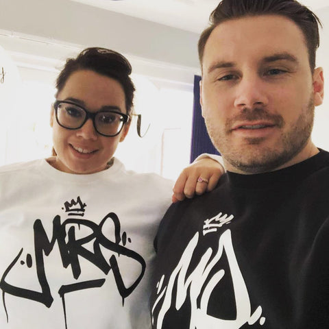Mr & Mrs Sweatshirts